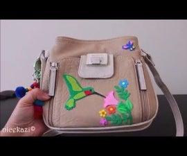 DIY-How to Revamp Your Old Handbag: Hummingbird