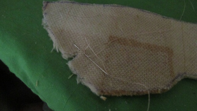 Picture of Sewing the Back Together