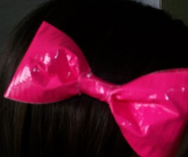 How to Make a Duct Tape Hair Bow