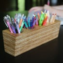 How to Make a Plywood Pencil Holder