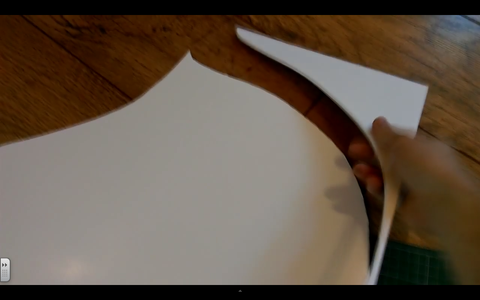 Cut Out Your Templates & Create Your Back Piece