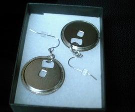 Floppy disc jewelry