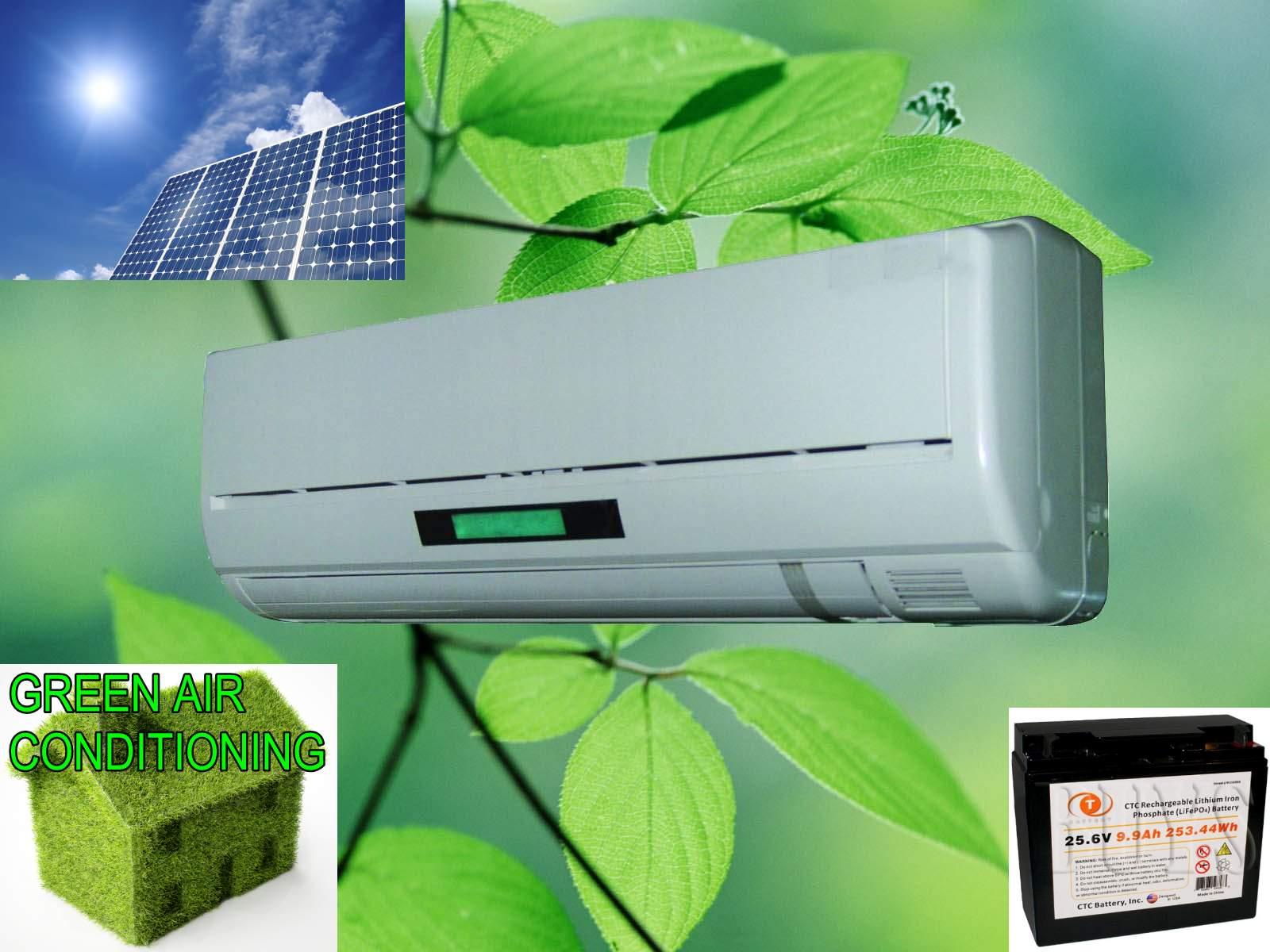 solar powered air conditioning unit 6 steps (with pictures)  solar powered air conditioning unit