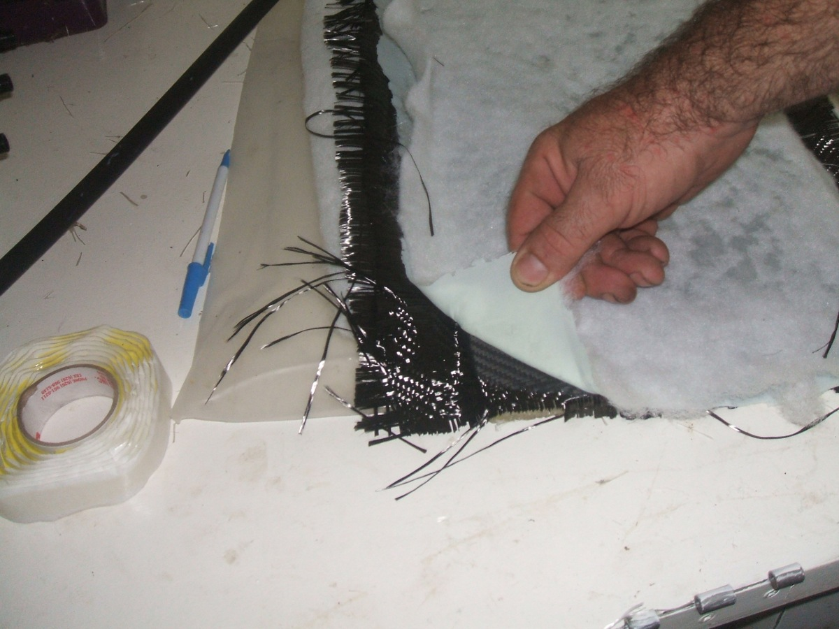 Picture of How to Make Carbon Fibre 6 ( Wet Layup )