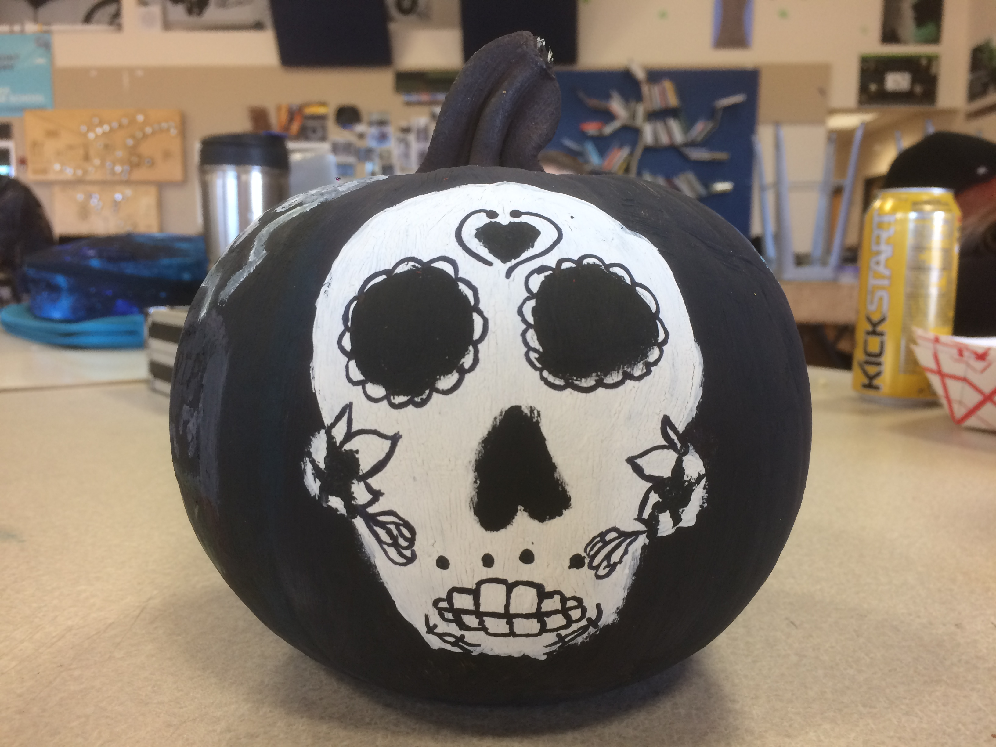 Picture of Day of the Dead/Witch Pumpkin