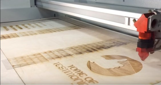 Cutting and Engraving the Wood