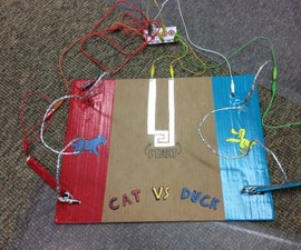 2 Player Frustration Game With Makey Makey/ Scratch Programming