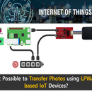 Is It Possible to Transfer Photos Using LPWAN-based IoT Devices?