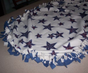 How to Make a Tied Fleece Blanket
