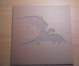 宝座纸板艺术游戏