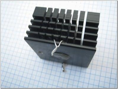 Preparing the Heatsink and the HDD-head