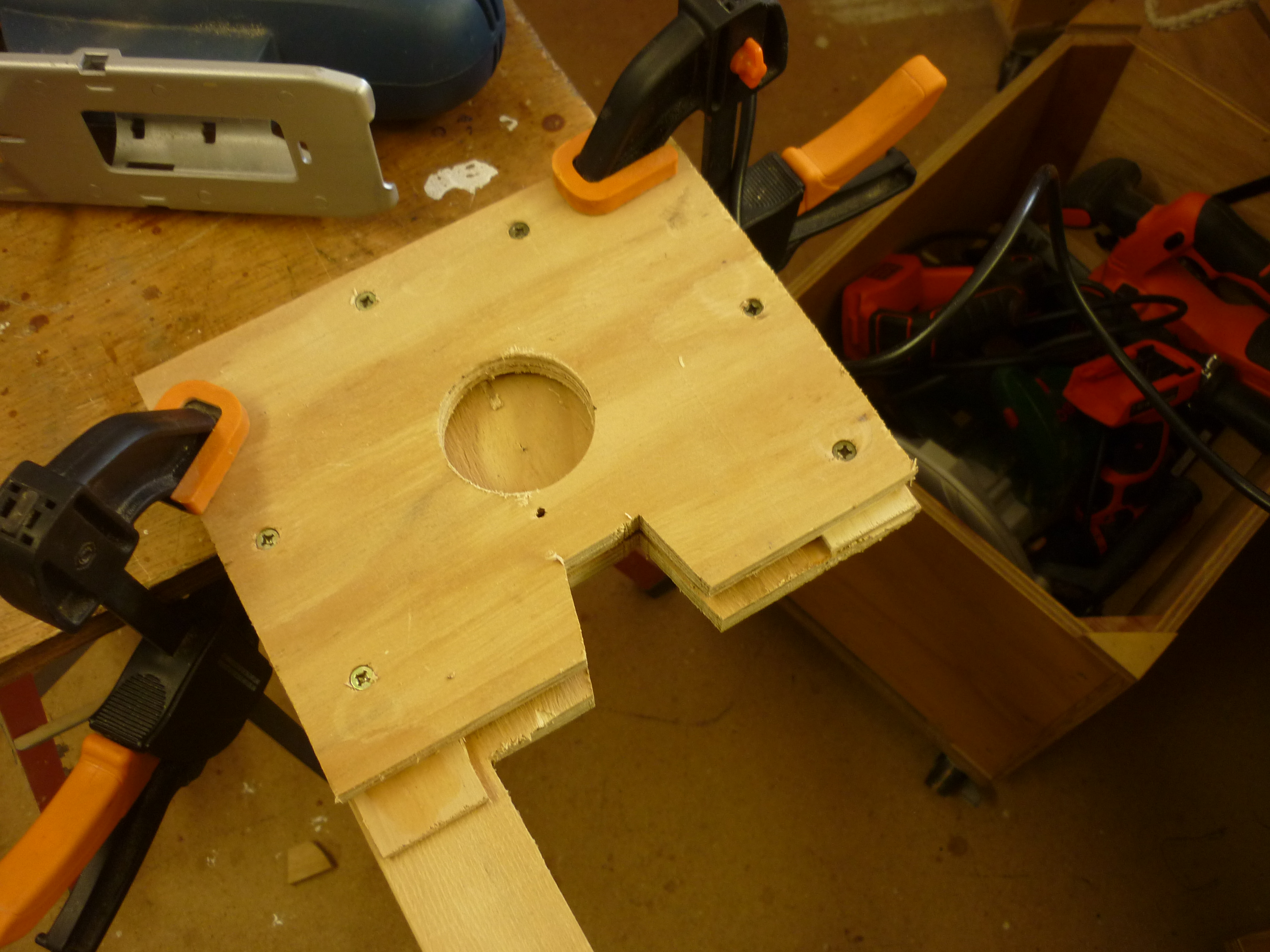 Picture of Fix Mallet Target and Fit Metal Place