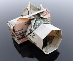 How to make an origami (Realistic) Digital Camera - Dollar Bill Origami!