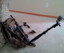 DIY GoPro Backpack mount w/GoPole detachment