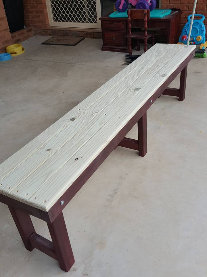Picture of  How to Make a Simple Bench