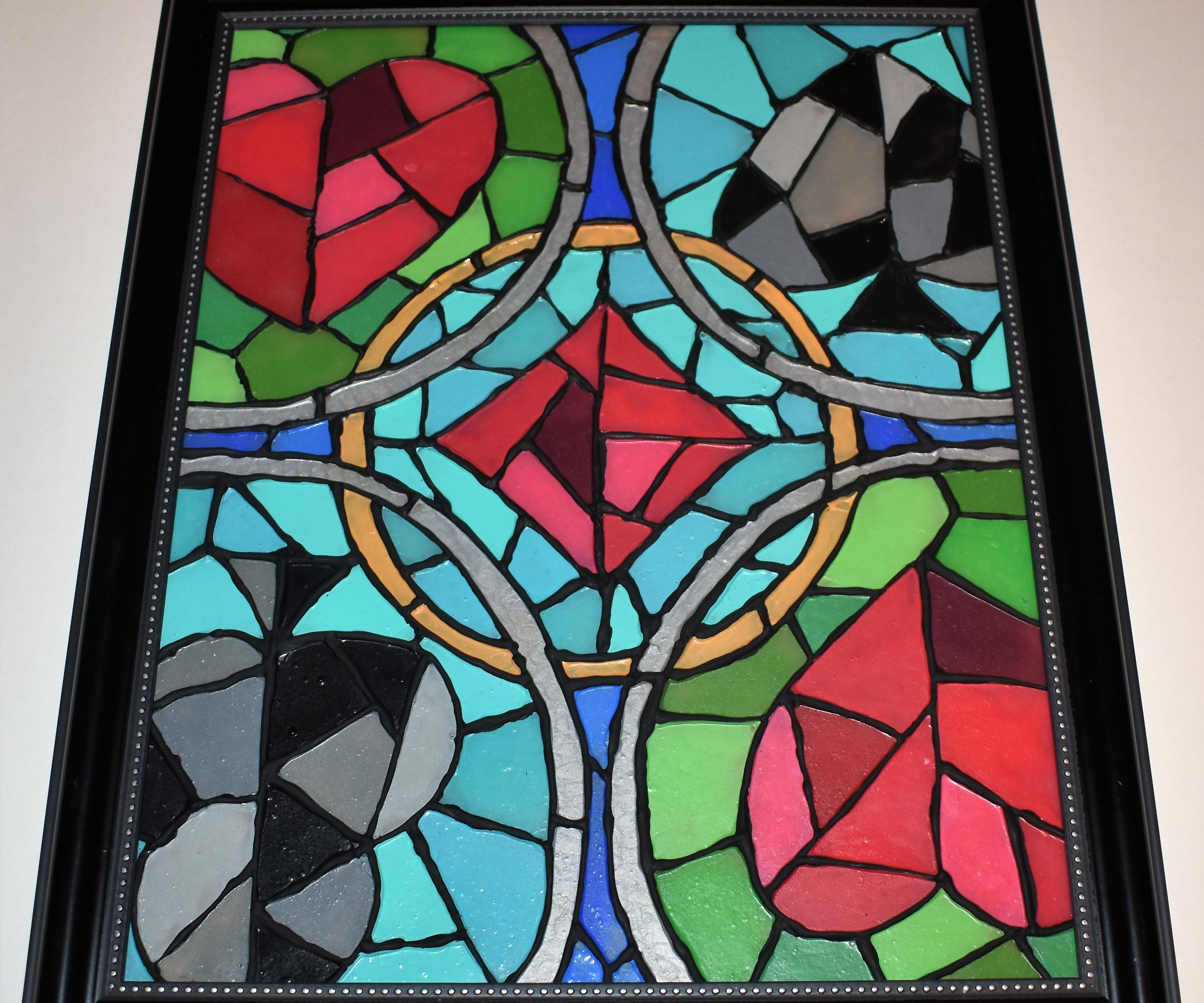 STAINED GLASS MADE EASY Various designs