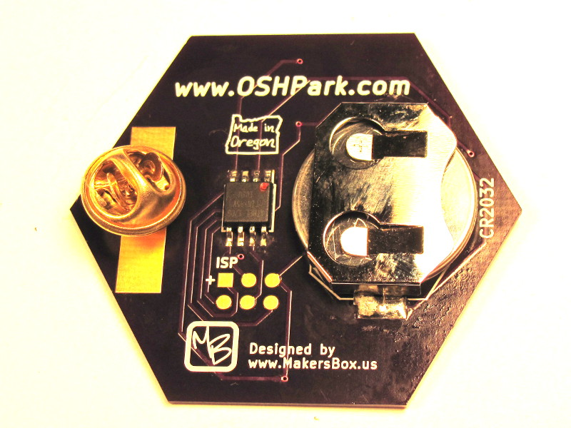 Picture of OSH Park Badge