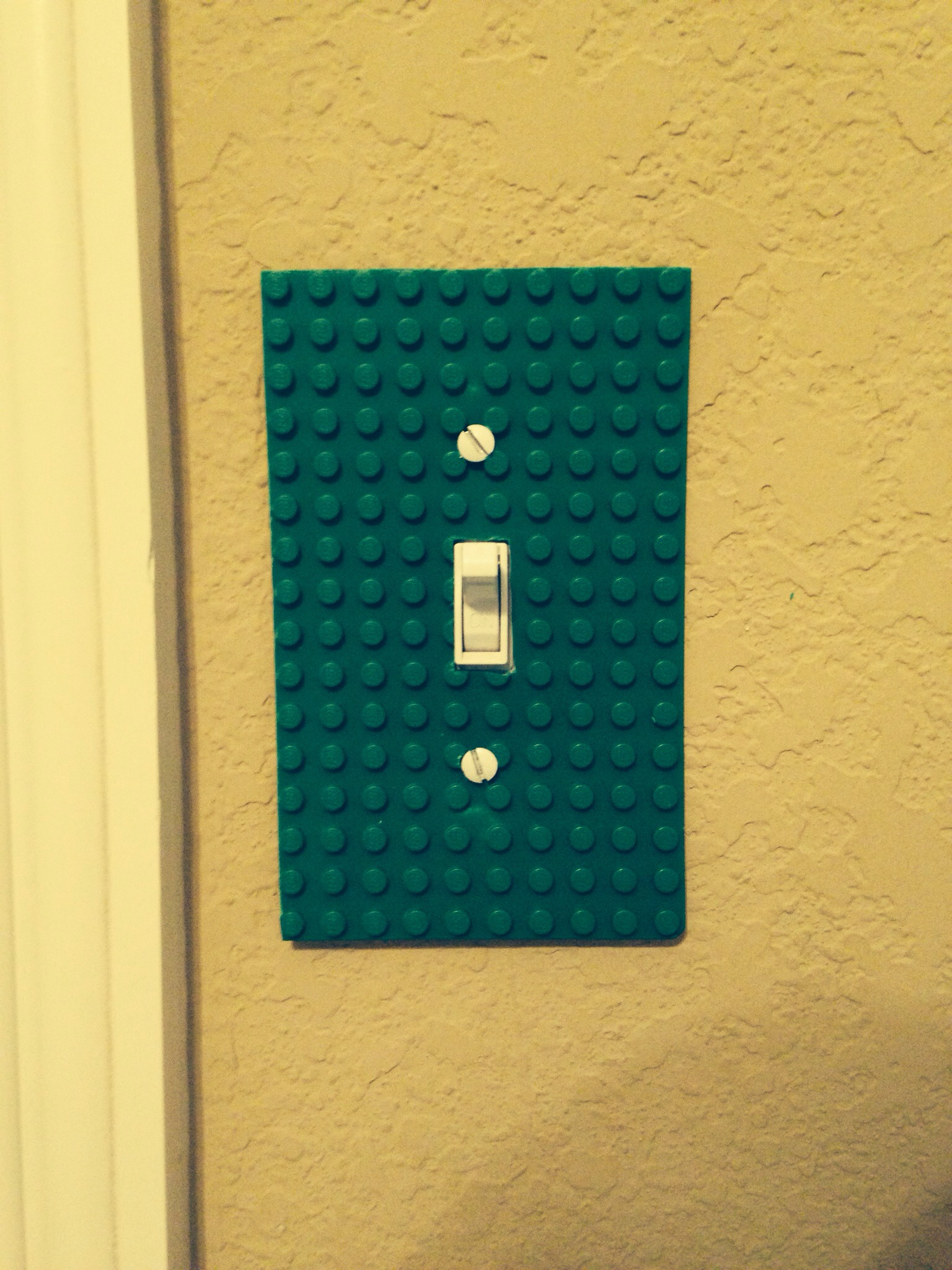 Picture of $0 DIY Lego Light Switch Cover