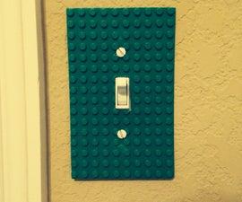 $0 DIY Lego Light Switch Cover