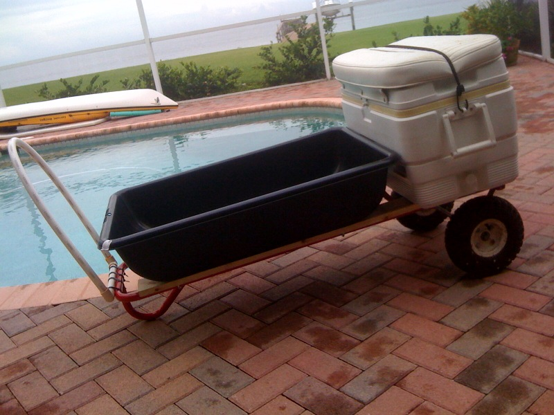 Picture of 1,000 Lbs Dock/Beach Cart for Under $50