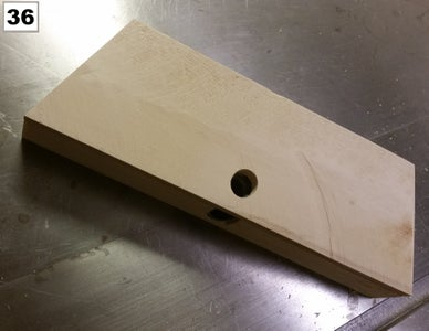 The Vise Back Plate and Rear Stretcher
