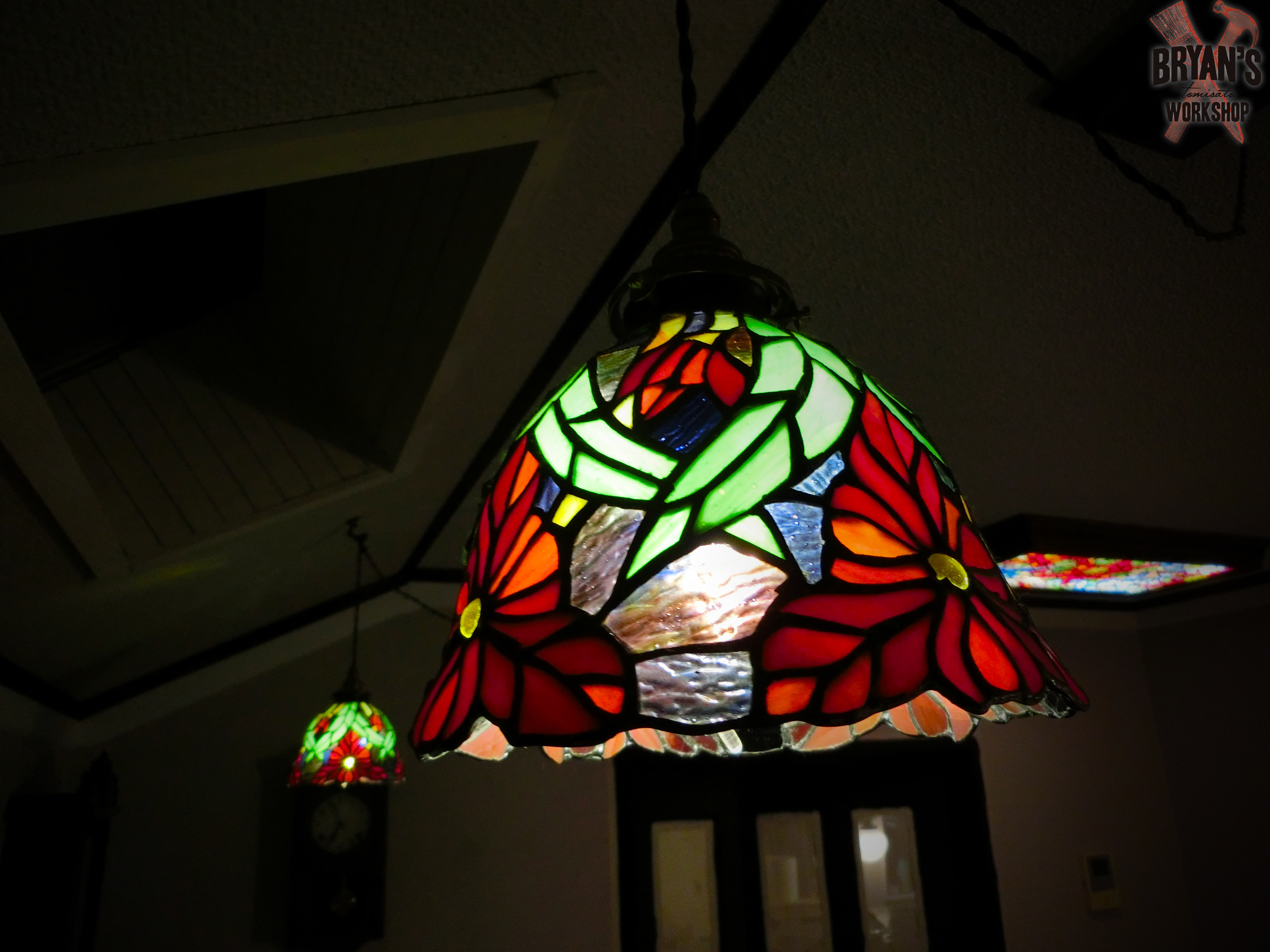 Picture of Enjoy Your New Mosaic Light!