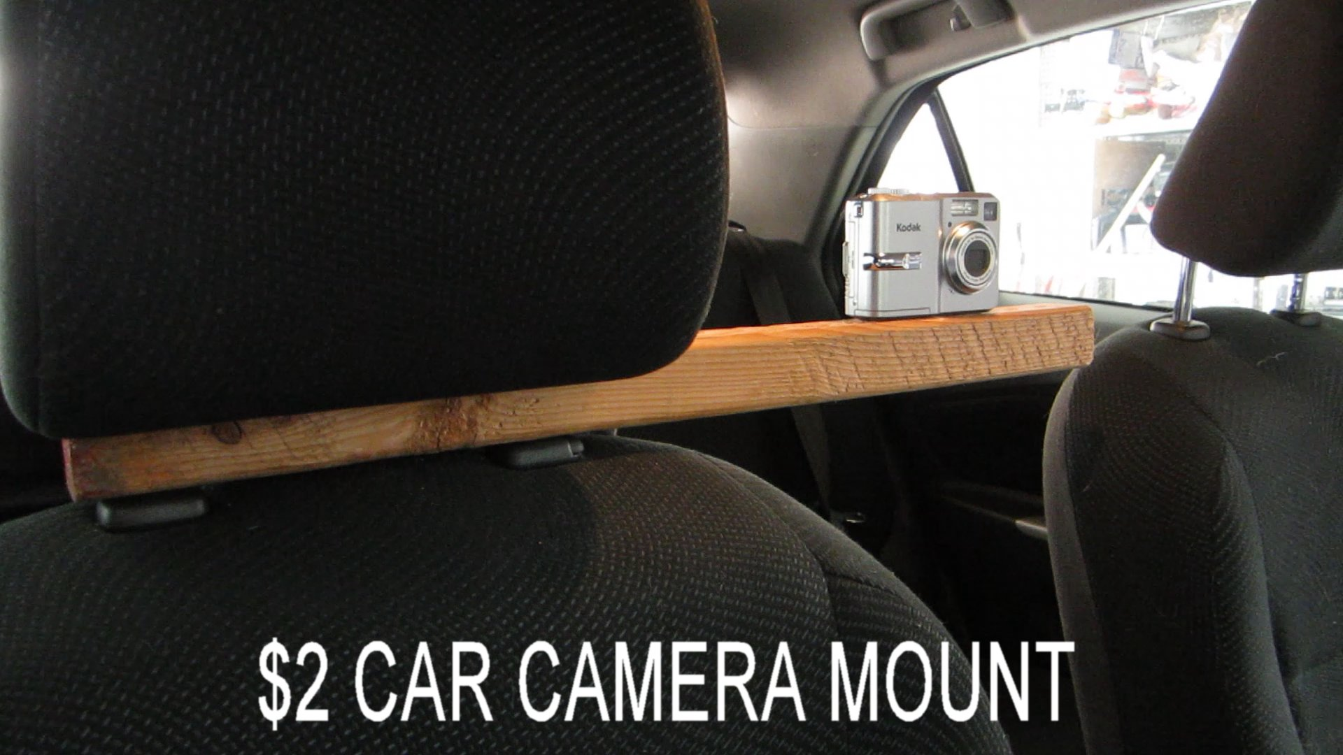 Picture of Simple In-Car Camera Mount for Less Than $2