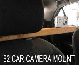 Simple In-Car Camera Mount for Less Than $2