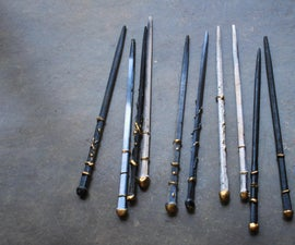 Make Wands With Chopsticks
