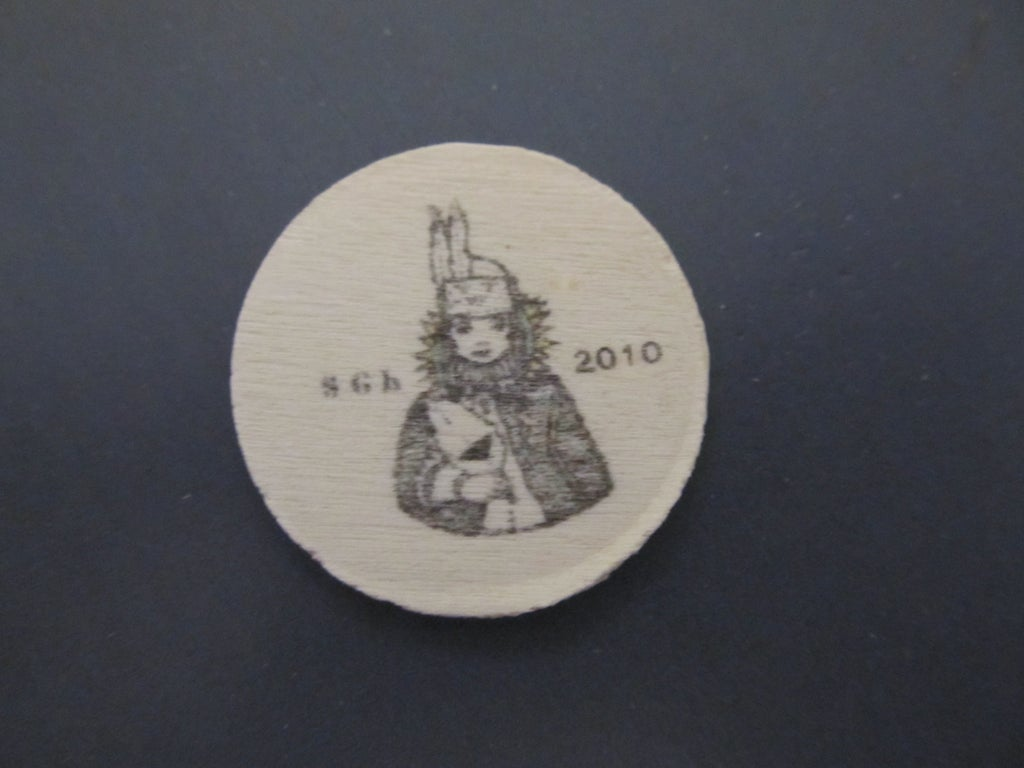 Geocaching Wooden Nickels 10 Steps With Pictures