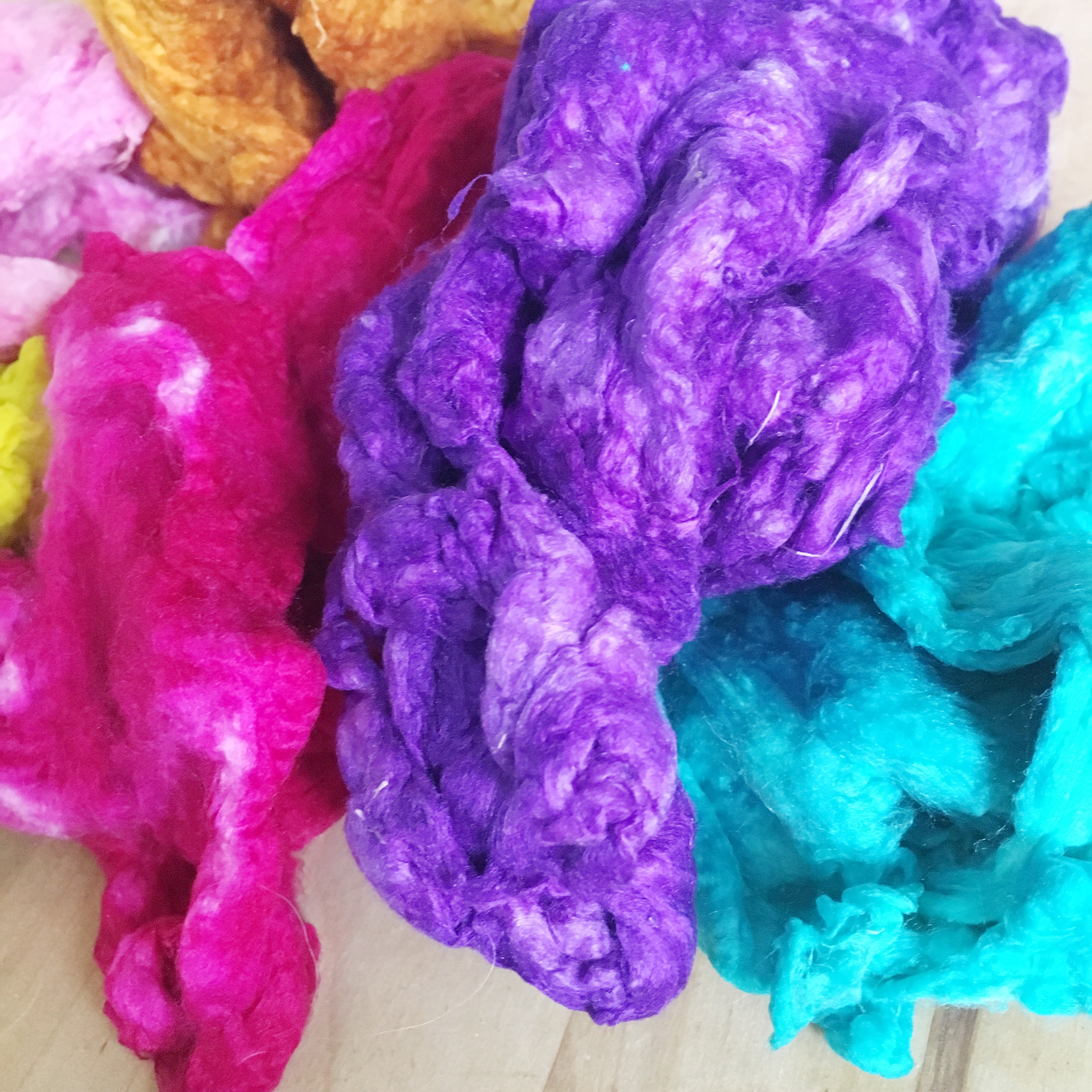 Picture of Dyeing Silk