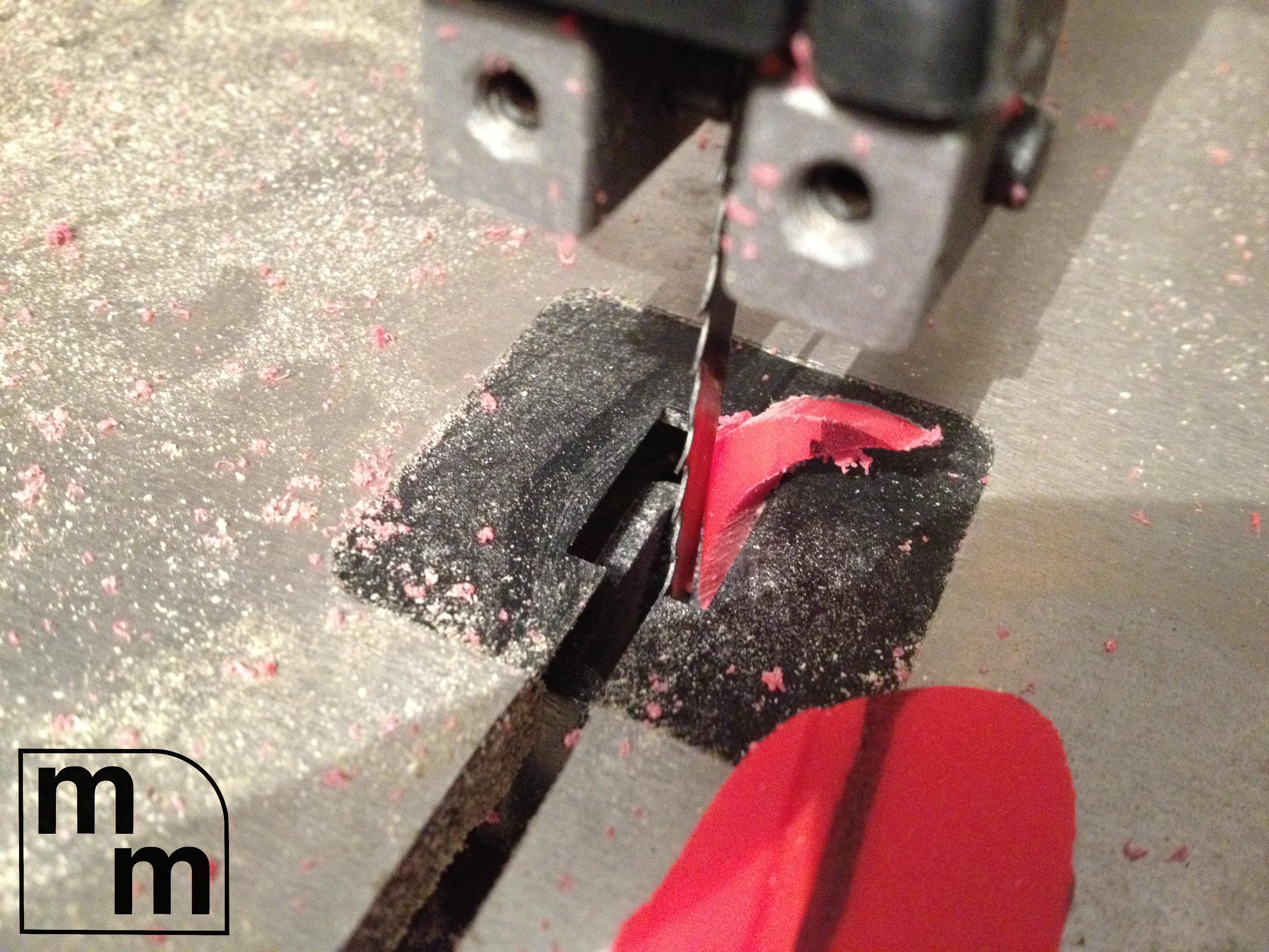 Picture of Cut Gauge Pieces