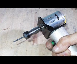 Homemade Mini Drilling With Spindle Machine Tool Clamping Rod ER11