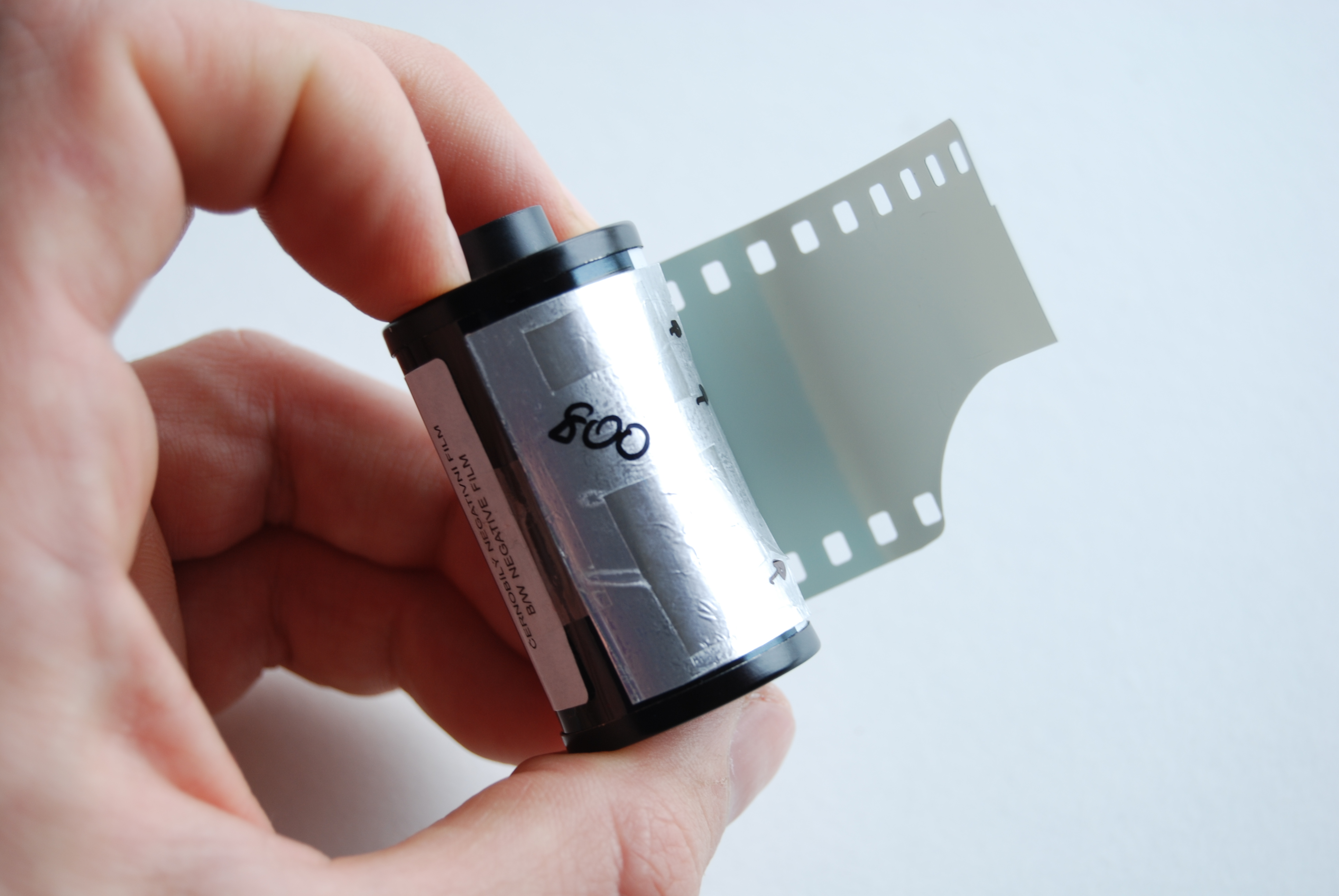 Picture of DIY Film DX Code Labels