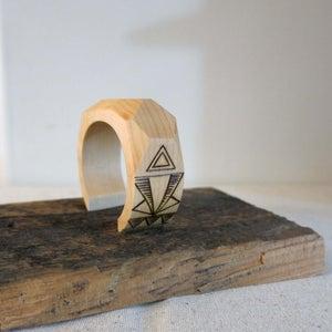Geometric Wood Bangle DIY
