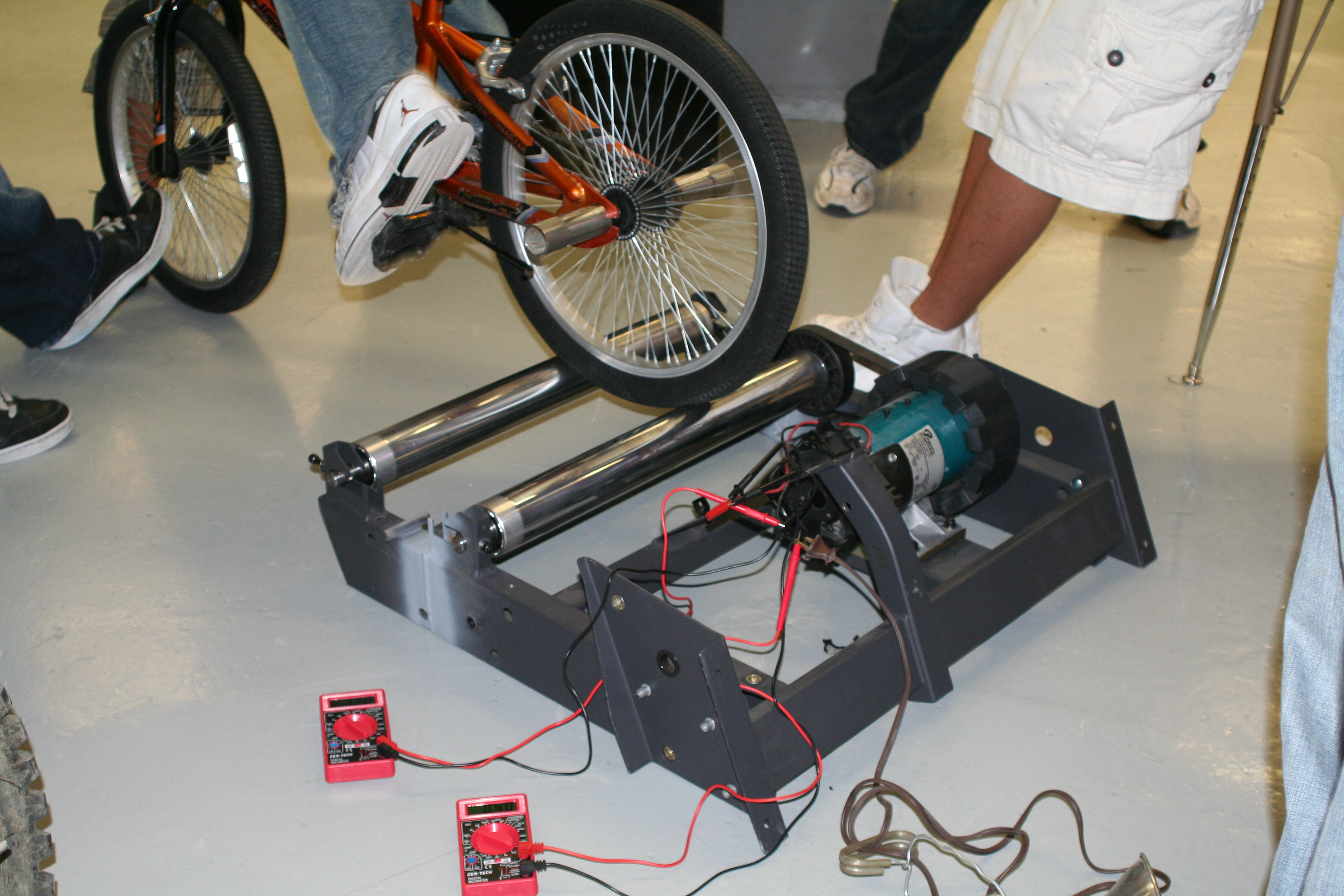 Picture of Pedal Like Crazy and Calculate Your Horsepower!