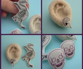 Jewellery with Shrinky Dinks and Doming Resin