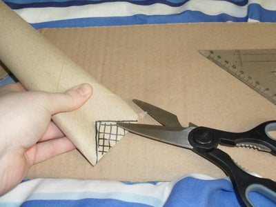 Attaching the Handle to the Hod.
