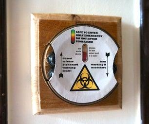 Biohazard Toilet Warning