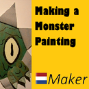 Making a Monster Painting