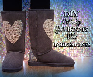 Customize Your Boots With Rhinestones!