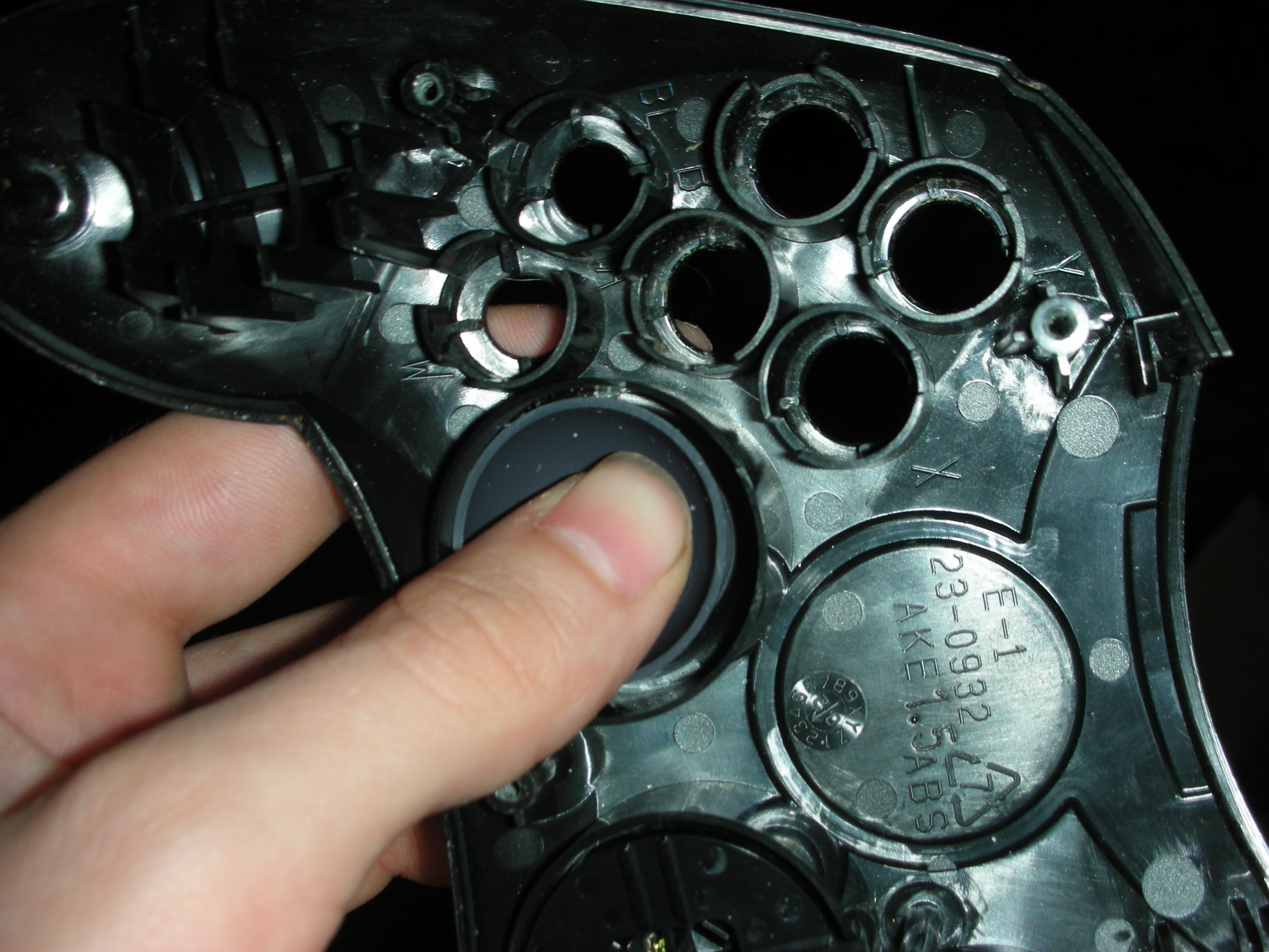 Picture of Installing Them on the Controller