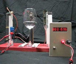 In Vino Veritas - a Wineglass Oscillator
