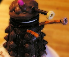 Mommy's mini CHOCOLATE DALEKS!