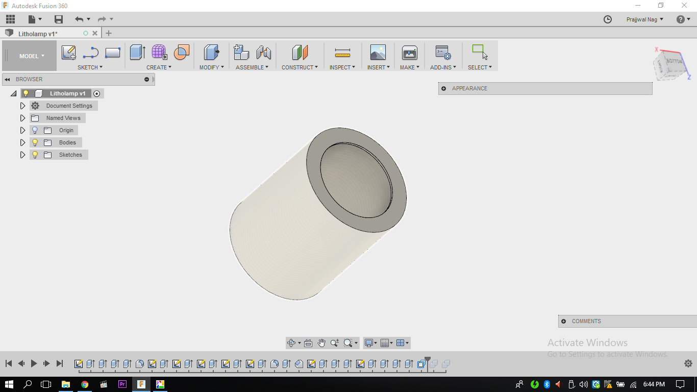 Picture of Designing a Holder