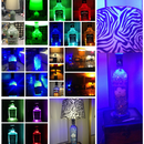 Recycled Bottle Lamps (Multiple)