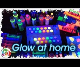 How to Have a Glow art party at home