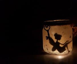 Fairy in a Glass Jar