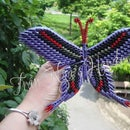 DIY Paper butterfly!