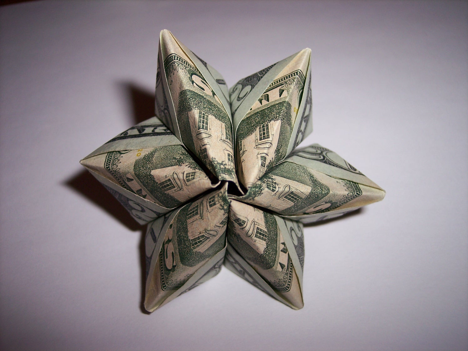 Picture of Origami Dollar Flower